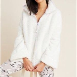Anthropologie Annette Sherpa Pullover